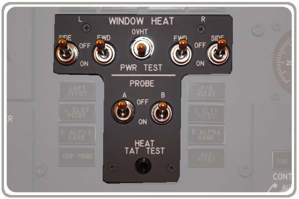 Window Heat panel