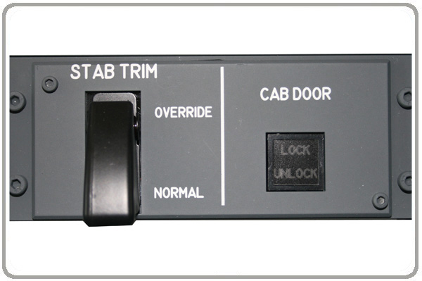 stabilizer trim panel
